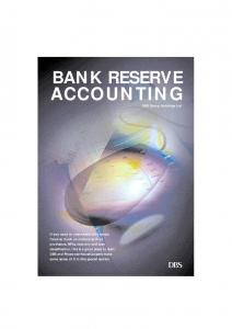ACCOUNTING BANK RESERVE. DBS Group Holdings Ltd