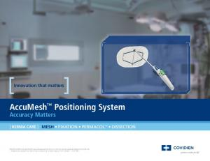 AccuMesh Positioning System