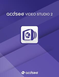 ACDSee Video Studio User Guide. Inhalt