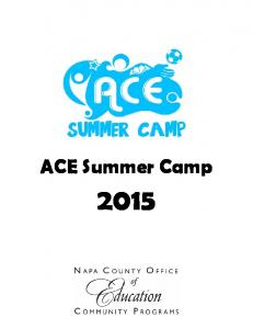 ACE Summer Camp 2015