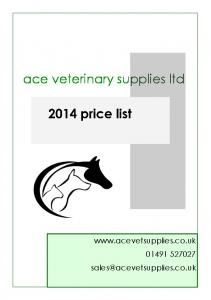 ace veterinary supplies ltd