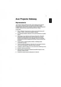 Acer Projector Gateway