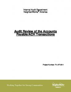 ACH Transactions