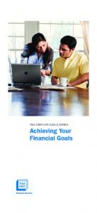 Achieving Your Financial Goals
