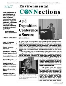 Acid Deposition Conference a Success
