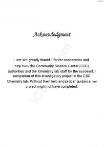 Acknowledgment icbse.com