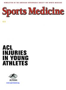 ACL INJURIES IN YOUNG ATHLETES. Fellowship Match Q&As Hall of Fame Inductees 2008 Annual Meeting Recap