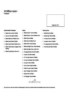 ACMBernstein Prospekt