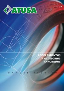 ACOPLAMIENTOS Y ACCESORIOS RANURADOS