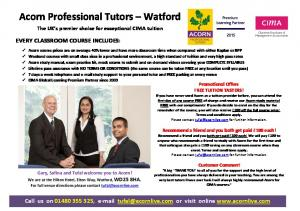Acorn Professional Tutors Watford