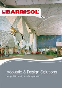 Acoustic & Design Solutions