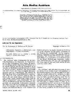Acta Medica Austriaca