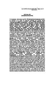 ACTA No. 072 (Noviembre 08 de 2012)