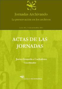ACTAS DE LAS JORNADAS