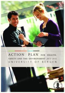 Action Plan for Health,