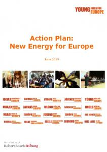 Action Plan: New Energy for Europe June 2012