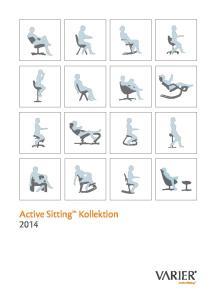 Active Sitting Kollektion Active Sitting