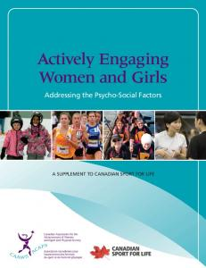 Actively Engaging Women and Girls