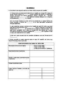 ACTIVIDADES. 1. Completa el texto siguiente sobre el contexto histórico-social del Lazarillo: