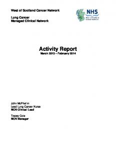 Activity Report March 2013 February 2014