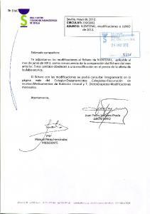 ACTUALIZACION CONSECUENCIA DE LA COMPARACION CON EL LISTADO ANTERIOR