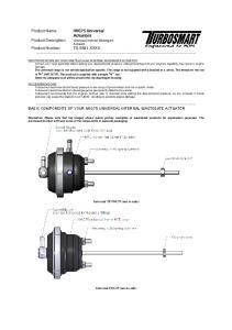 Actuators. Product Description: