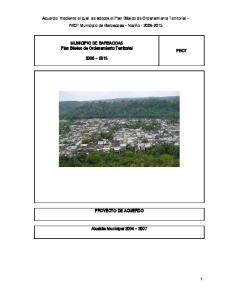 Acuerdo mediante el cual se adopta el Plan Básico de Ordenamiento Territorial PBOT Municipio de Barbacoas Nariño