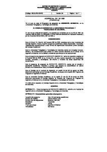 ACUERDO No. 010 DE 2008 (FEBRERO 28)
