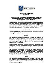 ACUERDO No. 019 de 2003 (Agosto 12)
