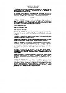 ACUERDO No. 037 de 2009 (25 DE SEPTIEMBRE)