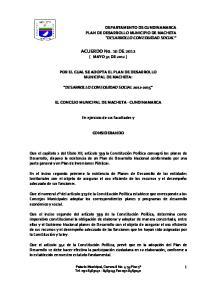 ACUERDO No. 10 DE 2012 ( MAYO 31 DE 2012 )