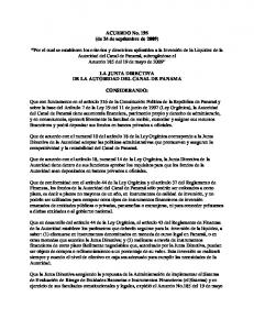 ACUERDO No. 195 (de 24 de septiembre de 2009)