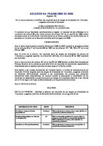 ACUERDO No. PSAA DE 2006 (Agosto 10)