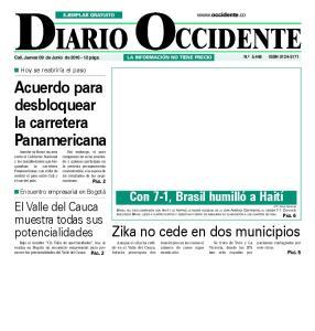 Acuerdo para desbloquear la carretera Panamericana