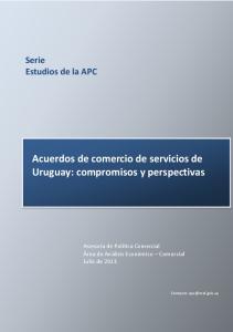 Acuerdos de comercio de servicios de