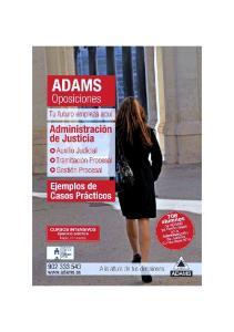 ADAMS Oposiciones. Xxxx