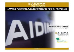 ADAPTING FURNITURE BUSINESS MODELS TO NEW WAYS OF LIVING