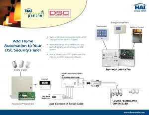 Add Home Automation to Your DSC Security Panel