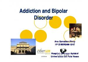 Addiction and Bipolar Disorder