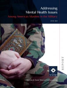 Addressing Mental Health Issues