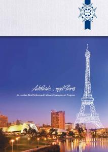 Adelaide... meet Paris. Le Cordon Bleu Professional Culinary Management Program