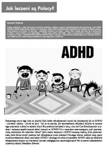 ADHD. graf. Olga Reszelska