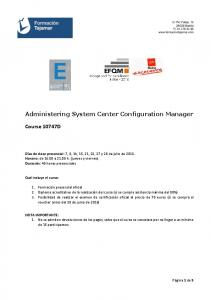 Administering System Center Configuration Manager