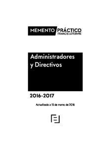 Administradores y Directivos