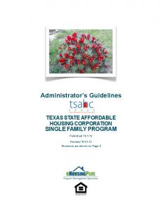 Administrator s Guidelines