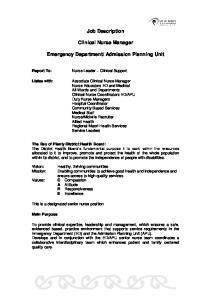Admission Planning Unit