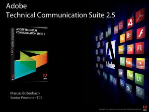 Adobe Technical Communication Suite 2.5