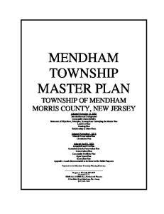 Adopted November 1, 2001: Historic Preservation Plan Circulation Plan