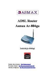 ADSL Router Asmax Ar-804gu