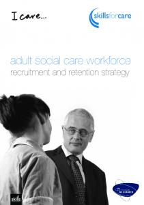 adult social care workforce recruitment and retention strategy
